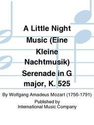 LITTLE NIGHT MUSIC SERENADE IN G MAJOR EINE KLEINE NACHTMUSI