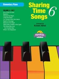 SHARING TIME SONGS 6 ALLRED LDS