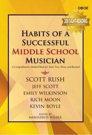 HABITS OF A SUCCESSFUL MIDDLE SCHOOL MUSICIAN OBOE
