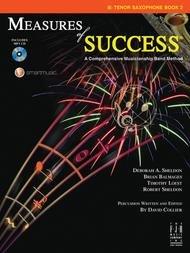 MEASURES OF SUCCESS 2 TENOR SAXOPHONE BALMAGES SHELDON BKCD