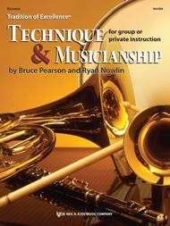 TRADITION OF EXCELLENCE TECHNIQUE & MUSICIANSHIP BASSOON PEA