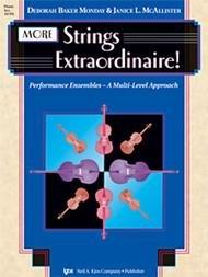 MORE STRINGS EXTRAORDINAIRE PIANO ACCOMPANIMENT MONDAY MCALL