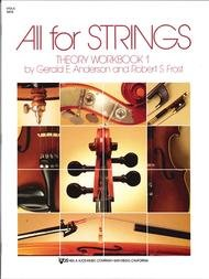 ALL FOR STRINGS THEORY WORKBOOK 1 VIOLA ANDERSON FROST