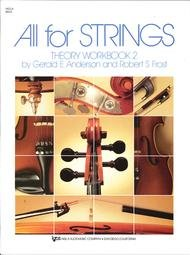 ALL FOR STRINGS THEORY WORKBOOK 2 VIOLA ANDERSON FROST