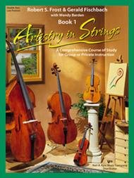 ARTISTRY IN STRINGS 1 DOUBLE BASS LOW POSITION FROST FISCHBA