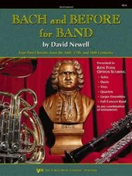 BACH & BEFORE FOR BAND BARITONE TC NEWELL