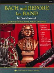 BACH & BEFORE FOR BAND OBOE NEWELL