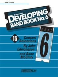 DEVELOPING BAND BOOK 6 CLARINET BB 2ND EDMONDSON MCGINTY
