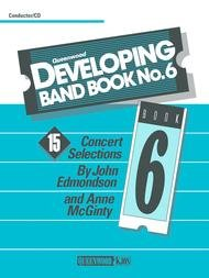 DEVELOPING BAND BOOK 6 CONDUCTOR EDMONDSON MCGINTY BKCD
