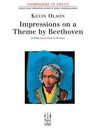 COMPOSERS IN FOCUS IMPRESSIONS ON A THEME BY BEETHOVEN OLSON