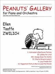 PEANUTS GALLERY FOR PIANO & ORCHESTRA SOLO PIANO & PIANO RED (44040021 ) (Piano Ensemble )