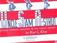 UNCLE SAM A STRUT BAND BOOK BARI SAX KING