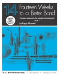 14 WEEKS TO A BETTER BAND JUNIOR HIGH EDITION 1 SAX ALTO Eb