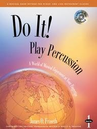 DO IT 1 PERCUSSION HOUGHTON FROSETH WILDER WEAVER BKCD