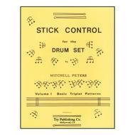 STICK CONTROL FOR THE DRUM SET 1 PETERS