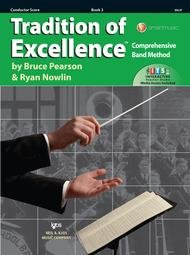 TRADITION OF EXCELLENCE 3 CONDUCTOR SCORE PEARSON NOWLIN ONL