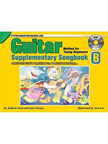 PROGRESSIVE GUITAR METHOD FOR YOUNG BEGINNERS SUPPLEMENTARY (CP69274 ) (Guitar Folios )