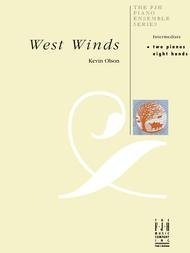 WEST WINDS OLSON FED20 (E1090 ) (Two Pianos Eight Hands )