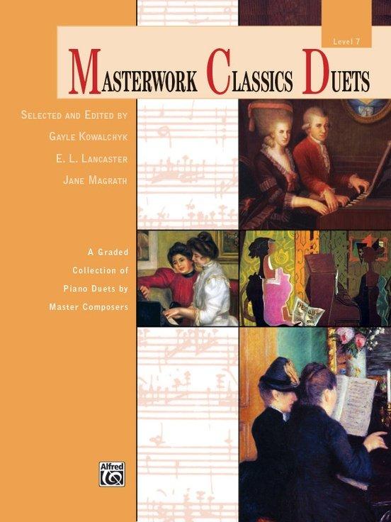 MASTERWORK CLASSICS DUETS 7 KOWALCHYK LANCASTER FED20 FED24 (41277 ) (Piano Duet Books )