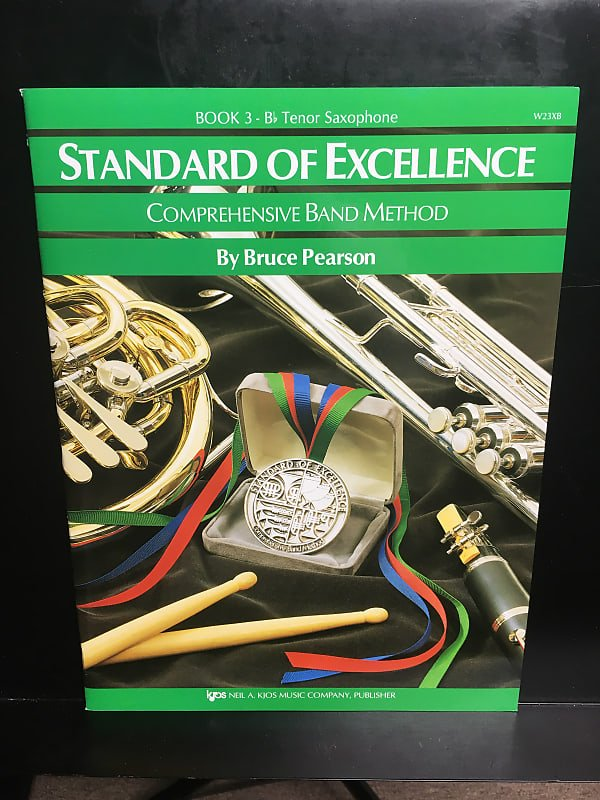 STANDARD OF EXCELLENCE 3 SAXOPHONE TENOR Bb PEARSON