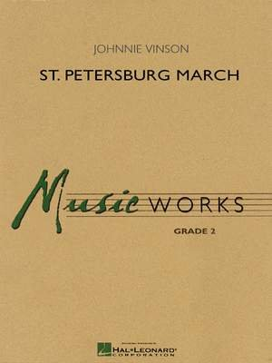 ST PETERSBURG MARCH CONDUCTOR SCORE ONLY VINSON