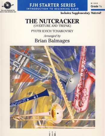 NUTCRACKER OVERTURE AND TREPAK SCORE & PARTS BALMAGES