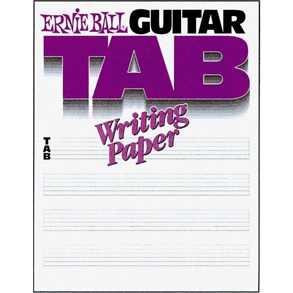 GUITAR TAB WRITING PAPERS TAB