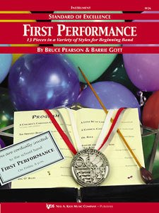 STANDARD OF EXCELLENCE FIRST PERFORMANCE CLARINET ALTO Eb PE