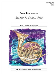 SUMMER IN CENTRAL PARK GRADE 4 BENCRISCUTTO