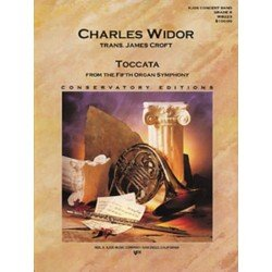 TOCCATA FROM THE FIFTH ORGAN SYMPHONY GRADE 6 WIDOR CROFT