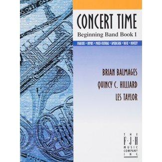 CONCERT TIME BEGINNING BAND BOOK 1 TUBA BALMAGES HILLIARD TA