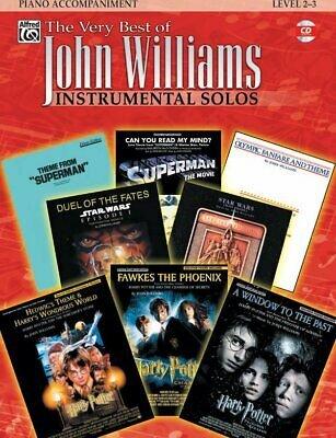 WILLIAMS JOHN VERY BEST OF INSTRUMENTAL SOLOS WILLIAMS GALLI (Piano Accompaniment Books )