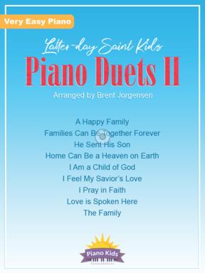 LATTER DAY SAINT KIDS PIANO DUETS 2 JORGENSEN LDS (01588 ) (Sacred Piano Duet Folios )