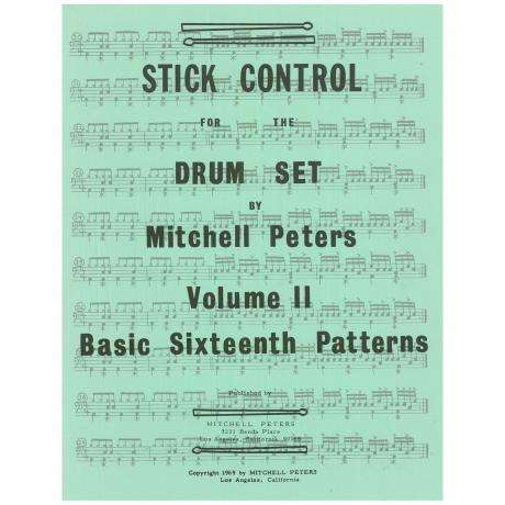 STICK CONTROL FOR THE DRUM SET 2 PETERS