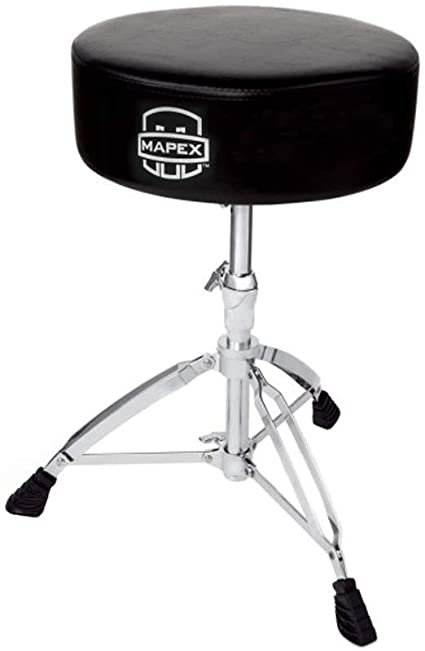MAPEX DOUBLE BRACED DRUM THRONE 14 X 4 ROUND TOP STEEL HE (T570A )