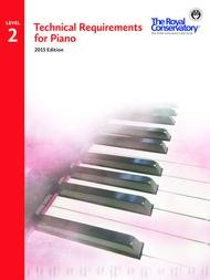 TECHNICAL REQUIREMENTS FOR PIANO 2 2015 EDITION ROYAL CONSER (TRP02 ) (Piano Methods )