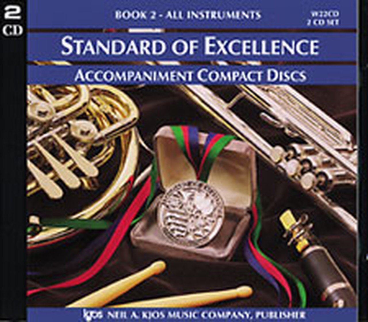 STANDARD OF EXCELLENCE 2 ACCOMPANIMENT DISK (2 CD SET) PEARS