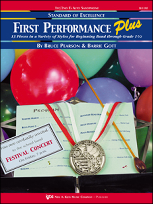 STANDARD OF EXCELLENCE FIRST PERFORMANCE PLUS SAXOPHONE ALTO