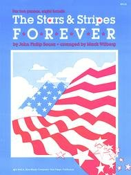 STARS & STRIPES FOREVER SOUSA WILBERG FED20 FED03 FED06 FED1 (WP181 ) (Two Pianos Eight Hands )