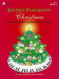 BASTIEN PLAY ALONG CHRISTMAS 1 (WP415B ) (Christmas Piano Book )
