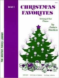 BASTIEN PIANO LIBRARY CHRISTMAS FAVORITES 1 FED20 (WP49 ) (Christmas Piano Book )