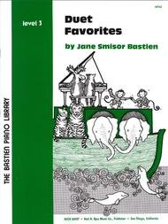 BASTIEN PIANO LIBRARY DUET FAVORITES 3 FED20 FED16 (WP62 ) (Piano Duet Books )