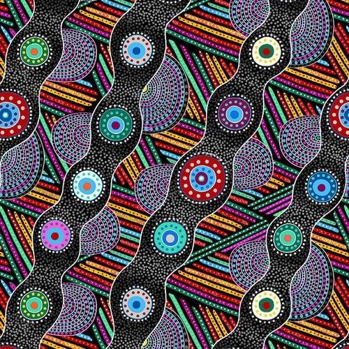 Origins Wavy Bias-Black