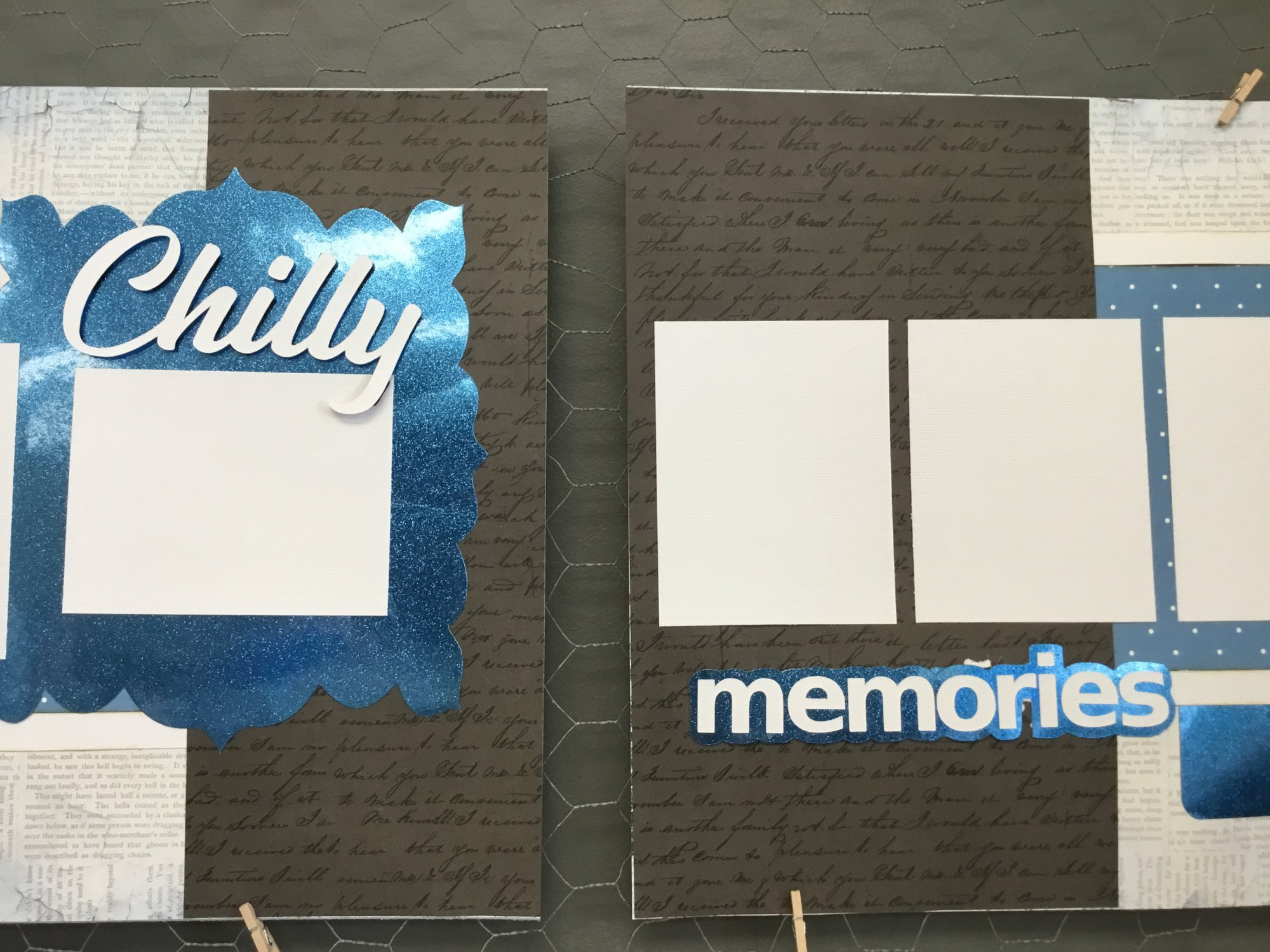 Chilly Memories 2pg Layout