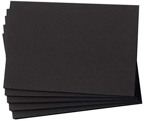Black card bases 40pk w envelopes