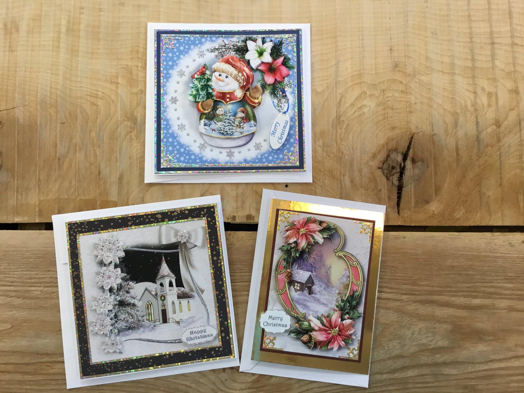 3 Christmas Cards Kit