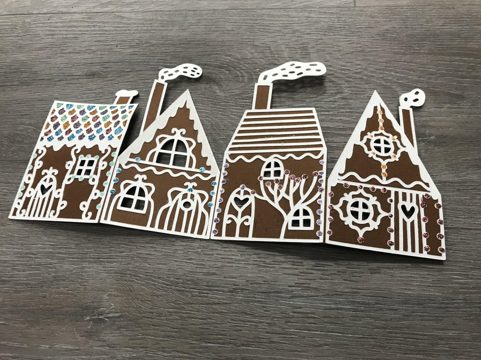 Gingerbread Card kit