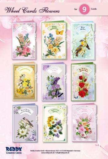 Reddy Wheel Flower Cardmaking Kit