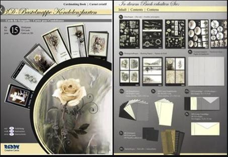 3D Cardmaking Book Floral/Sympathy