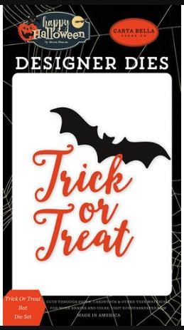 Carta Bella - Trick or Treat Bat die set